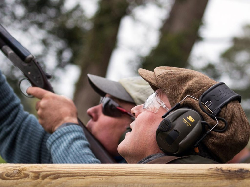 Clay Shooters Quidenham Norfolk