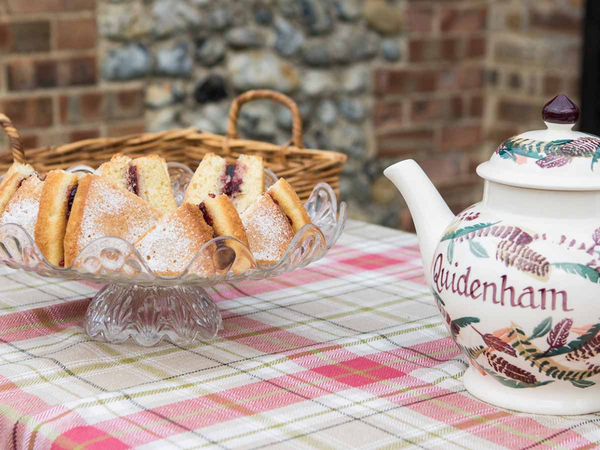 Afternoon tea at Quidenham